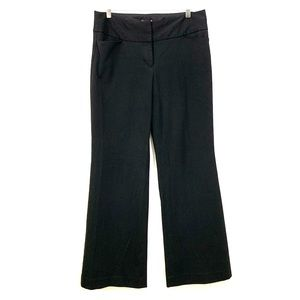 Express Low Rise Flare Wide Waistband Editor Pant